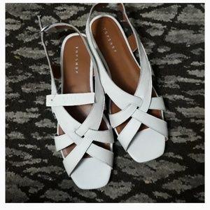Topshop Opal Cross Front Sling Sandals s 7.5